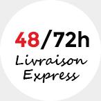 Livraison express 48/72h - Sur rendez-vous pour les commandes encombrantes.