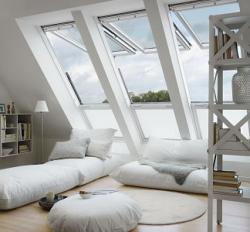 Gagner en luminosité avec les fenêtres de toit