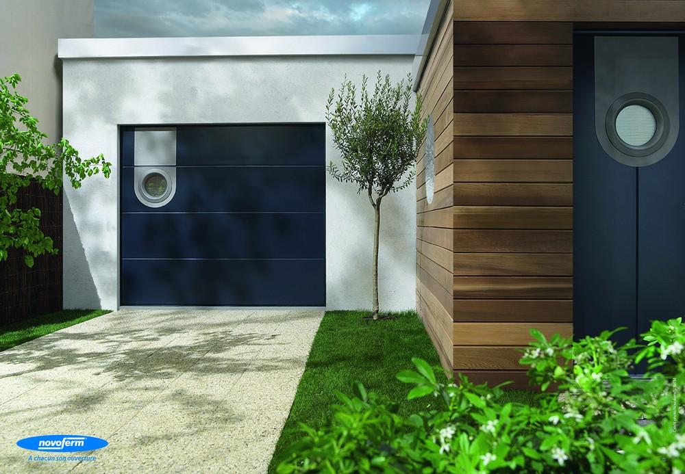 porte sectionnelle calypso novoferm colisage en kit. Black Bedroom Furniture Sets. Home Design Ideas